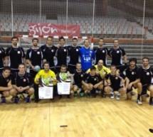 Reunión con los jugadores del JUANFERSA GRUPO FEGAR