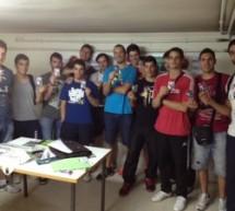 Reunión con los jugadores del GLOBALCAJA Ciudad Encantada