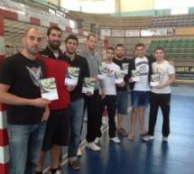 Reunión con los jugadores del Balonmano Villa de Aranda Top Ribera