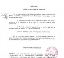 Estatutos de la ASOCIACIÓN DE JUGADORES DE BALONMANO (A.J.BM.)