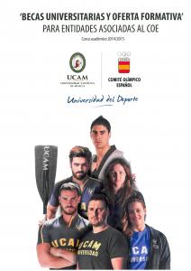 Becas Universidad Católica de Murcia.