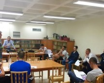Gran interés y muchas preguntas en la reunión con los JUGADORES del GLOBALCAJA Ciudad Encantada