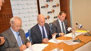 AFE y Fundación Pedro Guillén