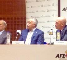 """La AFE y la Fundación """"Doctor Pedro Guillén"""" firman un acuerdo para  promover la investigación en recuperación de lesiones musculares."""