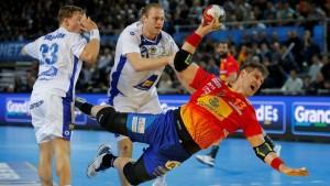 España gana su primer partido en una segunda parte de remontada.