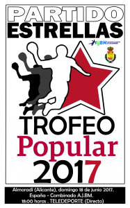 Logo Partido Estrella.Trofeo POPULAR 2017
