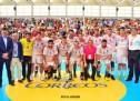 Partido Estrellas-Trofeo POPULAR 2017: contundente victoria de los #Hispanos ante el Combinado A.J.BM.