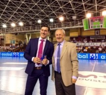 ASOBAL reconoce  la colaboración de la A.J.BM. durante la Copa de S.M. El Rey 2016-17.