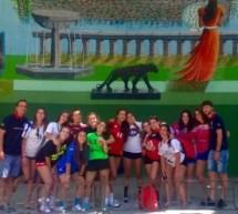 Excursión por el antiguo BÉJAR de las cadetes-juveniles durante el XXXV Campus A.J.BM. 2017