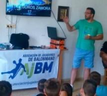 "Charla magistral de Iñaki Gómez en el XXXV Campus de Balonmano A.J.BM. ""Béjar 2017""."