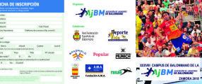 Quedan plazas disponibles para el Campus de Balonmano AJBM de Zamora.