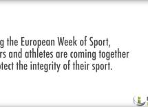 """La Asociación de Jugadores y EU ATHLETES se unen a la Semana Europea del DEPORTE a través del Proyecto """"PROTECT INTEGRITY"""""""