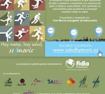 """A.J.BM. participará en las Jornadas sobre Salud y Deporte: """"Hay metas, hay salud, Hymovis"""""""