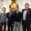 Primera visita de Álvaro Cabanas a la R.F.E.BM.