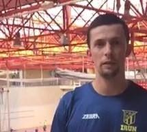 Adrián Crowley, jugador profesional del Club Dtvo. Bidasoa Irún nos habla de la Asociación de Jugadores.