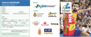 Segundo Campus A.J.BM. 2020. Provisional PALENCIA. Esperamos resolución del Instituto de la Juventud de Castilla y León.